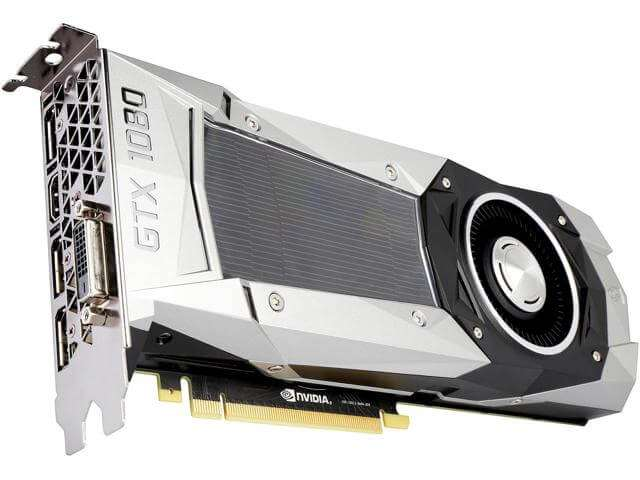 ASUS GeForce GTX 1080 1607Mhz PCI-E 3.0 8192Mb 10000Mhz 256 bit DVI HD
